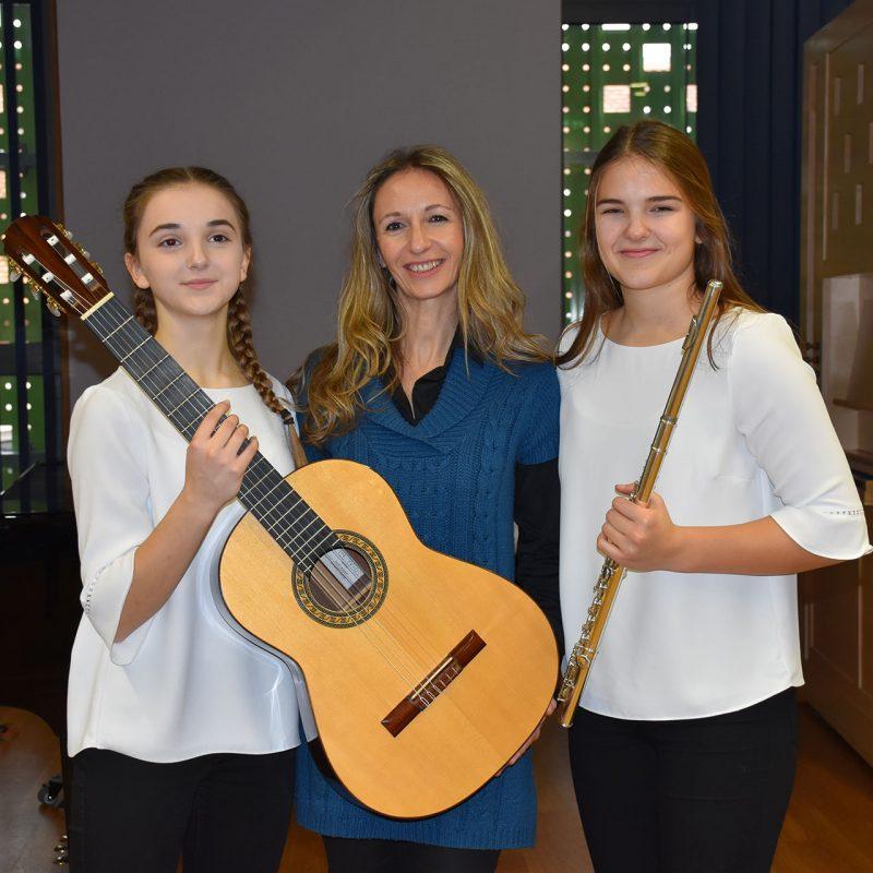 Samanta Stell,  Mia Janko i Chiara Vukadinović